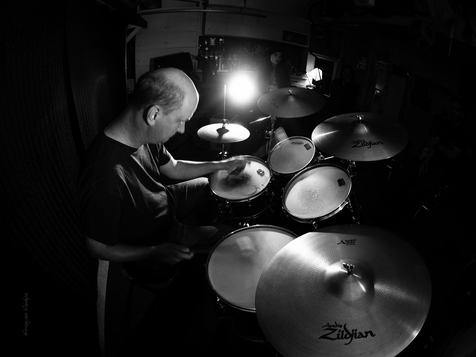 Larry Guest Drums